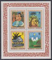 Samoa BF N° 24  XX Noël, Le Bloc Sans Charnière, TB - Samoa