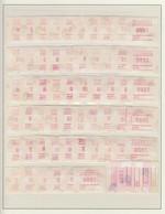 Australien Frama-ATM Ringelschwanz-Opossum 105 Versch. A- Und B-Nummern ** - Vignette Di Affrancatura (ATM/Frama)