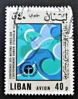 CONFERENCE DE STOCKHOLM 1974 - OBLITERE - YT 631 - Liban
