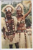TAHITI Danseur Et Danseuse étoiles Du Groupe Tahiti Nui Pendant Les Fêtes De Juillet - Tahiti