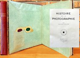 HISTOIRE De La PHOTOGRAPHIE Raymond LECUYER 1945 éditions BASCHET TBE - Cámaras Fotográficas
