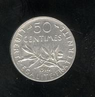 50 Centimes France 1914 - SUP - G. 50 Céntimos