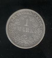1 Mark Allemagne / Germany 1874 F - TB - [ 2] 1871-1918: Deutsches Kaiserreich