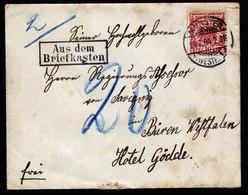 A6032) DR Brief Münster 18.07.94 M. Stempel Aus Dem Briefkasten - Deutschland