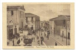 LACEDONIA - PIAZZA FRANCESCO DE SANCTIS - Avellino