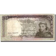 Billet, Portugal, 20 Escudos, 1964, 1964-05-26, KM:167b, TTB - Portugal