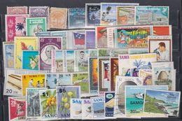 Samoa Lot N° 1  Ensemble De Plus De 50 Timbres Différents De Samoa, Neufs Avec Ou Sans Charnière Ou Oblitérés, TB - Samoa