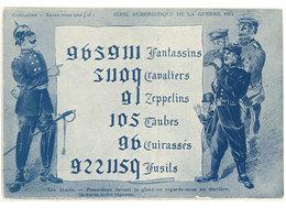 Carte A Voir Dans Un Miroir (Merde Pour Le Roi De Prusse)    (112367) - A Systèmes