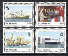 St Helena 1990 Maiden Voyage Of St Helena II  MNH  CV £7.85 - Saint Helena Island