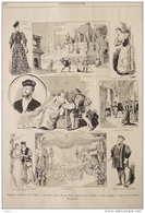 """Théâtre National De L'Opéra """"Ascanio"""" Opéra De M. Louis Gallet - Page Original - 1890 - Documents Historiques"""