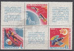 USSR - Michel - 1968 - Nr 3480/82 - MNH** - Ongebruikt