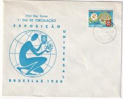 CAP VERT  1958 LETTRE DE S.VICENTA - Cap Vert