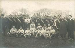VENDEE FONTENAY LE COMTE  ( Carte Photo)  équipe De FOOTBALL   H. Fauger Photographe - Fontenay Le Comte