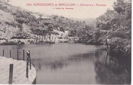 250 POSTAL DEL PANTANO DE VALLVIDRERA - ALREDEDORES DE BARCELONA (L. ROISIN) BARCELONA - Barcelona