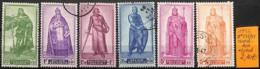 [831847]Belgique 1946 - N° 737/41, Prince Du Moyen âge, Familles Royales - Belgium