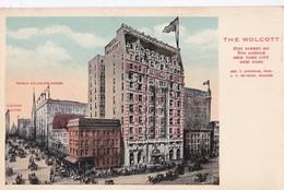 Carte 1910 THE WOLCOTT / 31 STREET / 5TH AVENUE / NEW YORK CITY - New York City