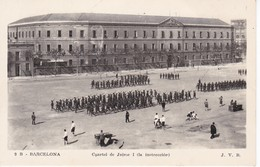 9 POSTAL DE BARCELONA DEL CUARTEL DE JAIME I - LA INSTRUCCION (J.V.B.) - Barcelona