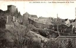 ORTHEZ - LES VIEUX REMPARTS ET LA TOUR - Orthez