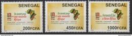 Sénégal 2017 Mi. ? 4e Conférence UNI Africa Global Union Map Landkarte Carte ** - Senegal (1960-...)
