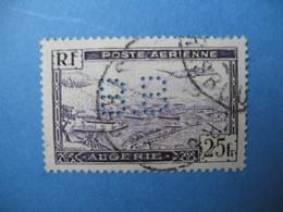 Perforé  Perfin  Algérie ,   Perforation :  BB4    à Voir - Algérie (1924-1962)