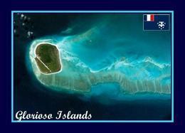 AK Iles Eparses GlorieusesGlorioso Aerial View Scattered Islands New Postcard - TAAF : Franse Zuidpoolgewesten