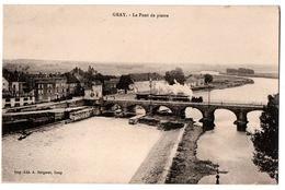 GRAY LE PONT DE PIERRE TRAIN ANIMEE - Gray