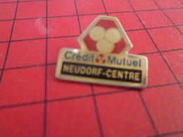 718c Pin's Pins : Rare Et Belle Qualité THEME : BANQUES / CREDIT MUTUEL NEUDORF CENTRE - Banken