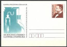 Poland 1995 Fi Cp 1107 Postal Stationery ( CP ZE4 PLD1107 ) - Chemie