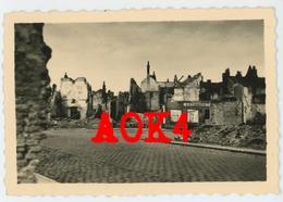 59 Nord CASSEL MERVILLE Ruines 1940 Wehrmacht Nordfrankreich Dunkirk - Guerre, Militaire