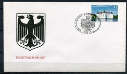 """Germany 2013 First Day Cover Mi.Nr.3016 (Selbstkleber Aus Folienstr.)""""Burgen Und Schlösser,Schloss Glücksburg """" 1 FDC - Schlösser U. Burgen"""