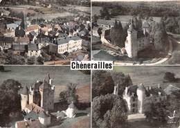 23 - Chenerailles - Eglise - Groupe Scolaire - Château D'Etangsannes - Château De Villemonteix - Château D'Orgnat - Chenerailles