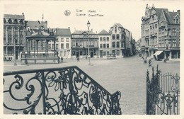 CPA - Belgique - Lier - Lierre - Grand'Place - Lier