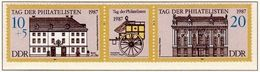 Allemagne-Est Germany-East DDR 1987: Hofpostamt & Palais Wartenberg In Berlin Michel-No. 3118-19 ** - Poste