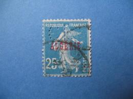 Perforé  Perfin  Algérie ,   Perforation :  CL9    à Voir - Argelia (1924-1962)