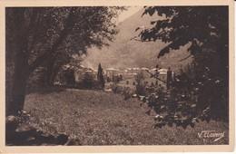 11 POSTAL DE ANDORRA DE LES ESCALDES CONTRALLUM DEL AÑO 1947 (V. CLAVEROL) - Andorra
