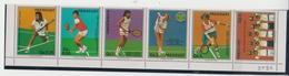 PARAGUAY 1986 TENNIS VICTOR PECCI JIMMY CONNORS GABRIELA SABATINI BORIS BECKER CLAUDIA KOHDE - Tennis