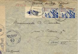 9-3-432 - Légion Des Volontaires Français Avec T P  OBLIT. Feldpost -  S P 03865A -1er Bataillon Du 638è R I - Marcophilie (Lettres)