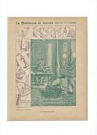 Maîtresse De Maison Le Chauffage + Recettes De Cuisine Couverture Protège-cahier Bien +/- 1900 3 Scans - Protège-cahiers