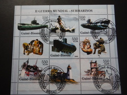Guinée Bissau 2005 - 2e GM - Sous Marins - Bloc De 9 - 2. Weltkrieg