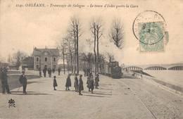 45 1145 ORLEANS Tramways De Sologne Le Train D'Isdes Quitte La Gare - Orleans