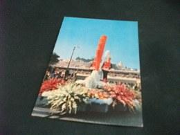SANREMO EUROPA IN FIORE 1964 PIN UP BIONDE CARRO FANTASIA FLOREALE - San Remo