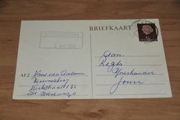 58-    BRIEFKAART VAN BLOEMISTERIJ VAN AALSUM - ST. NICOLAASGA - 1960 - Kaarten