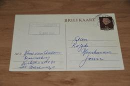 58-    BRIEFKAART VAN BLOEMISTERIJ VAN AALSUM - ST. NICOLAASGA - 1960 - Andere
