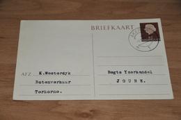 65-    BRIEFKAART VAN BOTENVERHUUR WESTERDIJK, TERHORNE - 1961 - Kaarten