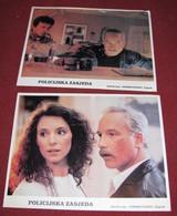 Richard Dreyfuss STAKEOUT Madeleine Stowe 2x Yugoslavian Lobby Cards - Foto's