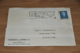 61-    BEDRIJFSKAART FADDEGON & KROOK N.V. - AMSTERDAM-C - 1950 - Kaarten