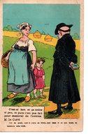 Religion : Carte Anticléricale : ...pour Mesurer L'avoine - Other