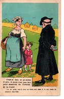 Religion : Carte Anticléricale : ...pour Mesurer L'avoine - Cristianesimo