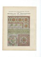 PENSÉES FRANÇAISES Le Maître + Canevas Tapisseries Broderies Protège-cahier Bien +/- 1900 3 Scans - Protège-cahiers