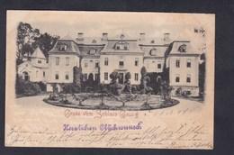 AK Gruss Vom Schloss Gaussig ( Voyagé En 1897) - Germania